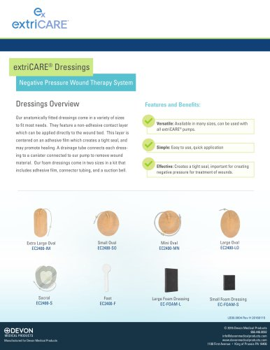 extriCARE® Dressings