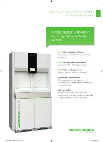WASSENBURG® WD440 PT Pass Through Endoscope Washer  Disinfector