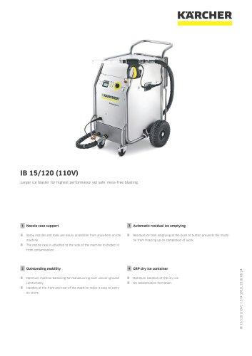 DRY ICE BLASTER IB 15/120 (110V)