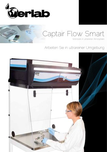 Captair Flow Smart - Werkbank in ultrareiner Atmosphäre