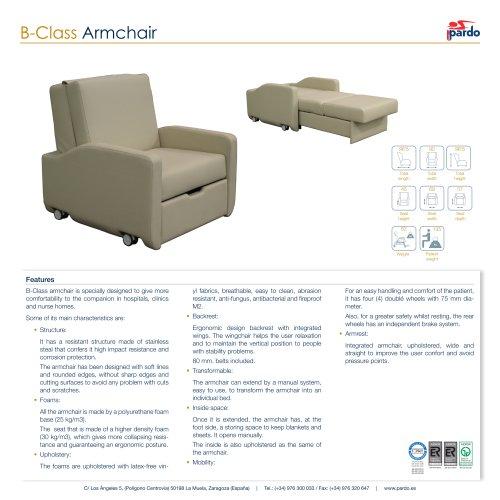B-Class Armchair