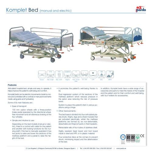 Komplet Bed