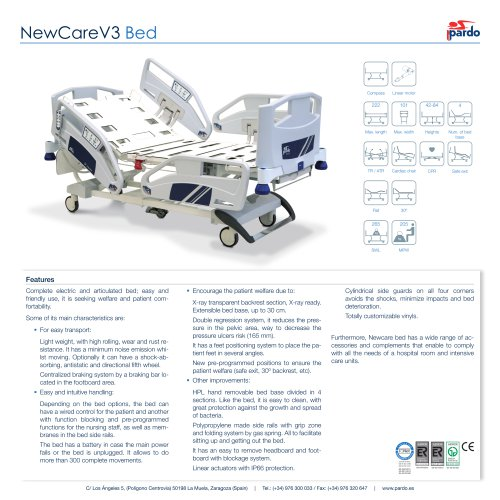 NewCareV3 Bed