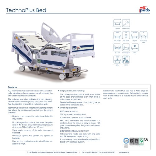 TechnoPlus Bed