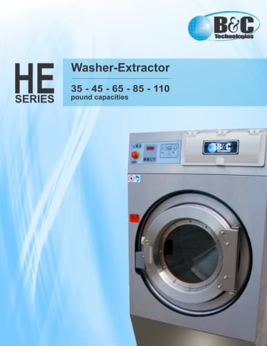 HE Series Commercial Washer