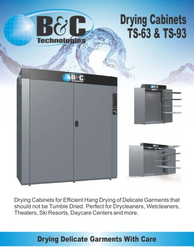 TS Series Commercial Drying Cabinet