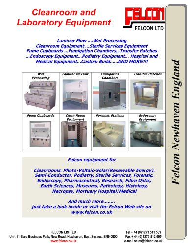 Cleanroom and Laboratory Equipment